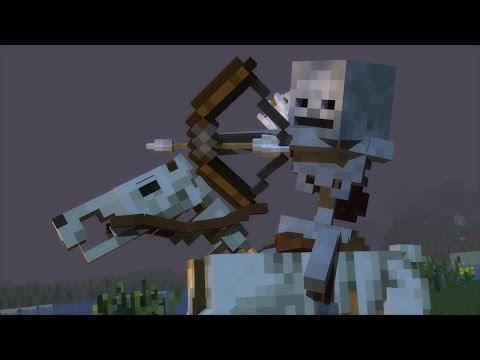 """Skeleton Horseman"" - Minecraft Animation"