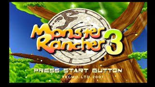 Monster Rancher 3 - Opening Title Screen & Demo Battles [SD] (PS2)