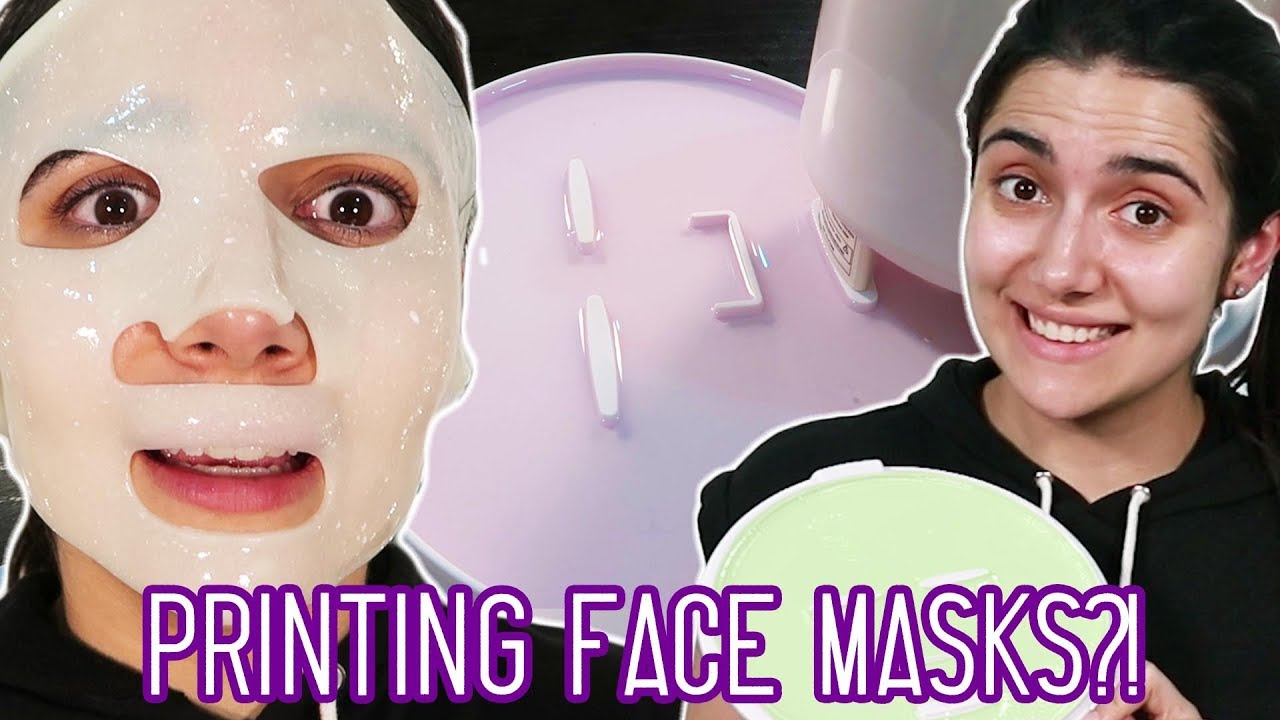 3d printing my own custom face masks youtube