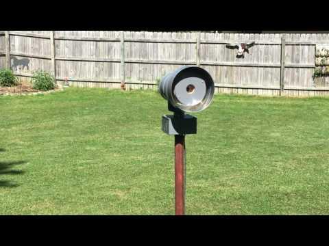 Miniature Rotating 2-Tone Tornado Siren