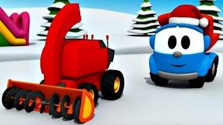 Leo Junior kar temizleme aracı yapıyor - Eğitici çizgi film! Türkçe izle