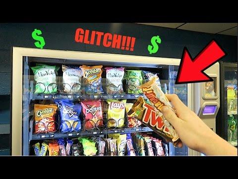 free vending machine stuff