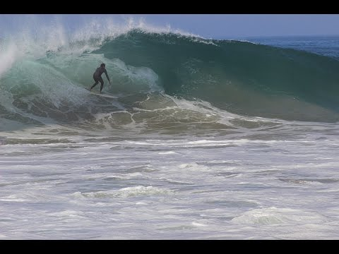 North County L.A. Big Waves During Hurricane Marie