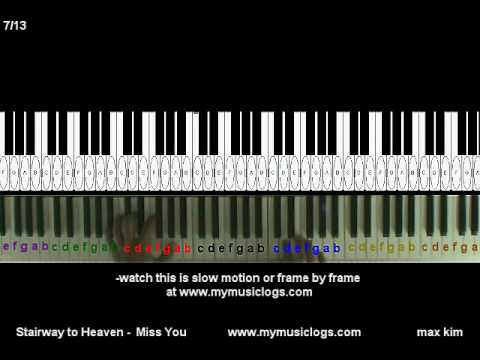 Piano : piano tabs stairway to heaven Piano Tabs Stairway as well ...