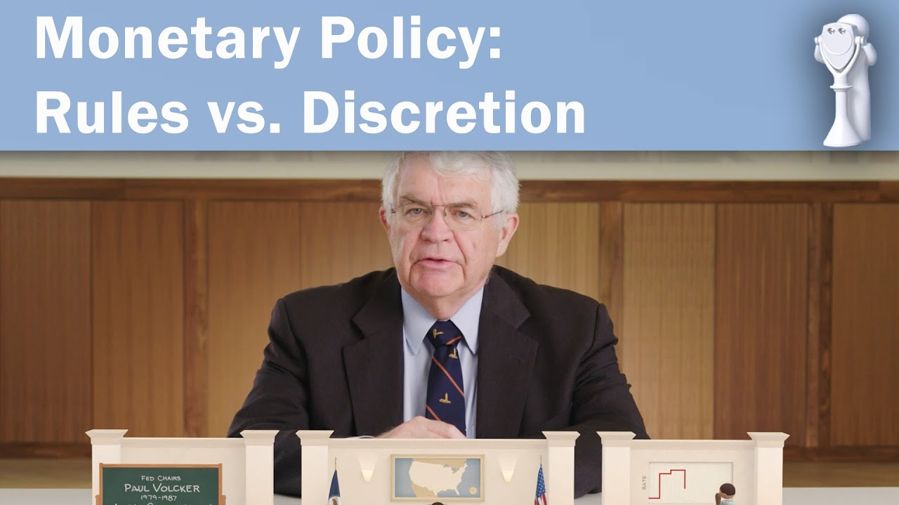 Monetary Policy: Rules vs. Discretion with John B. Taylor: Perspectives on Policy
