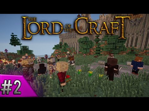 Lord of the Craft Part 02  Beppin the Strange! Minecraft RP Server