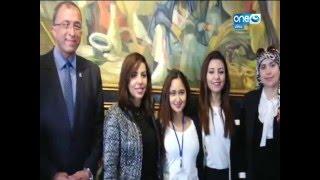 اخر النهار - لأول مرة على شاشة التلفزيون 10 شباب يحاورون الدكتور / أشرف العربي وزير التخطيط