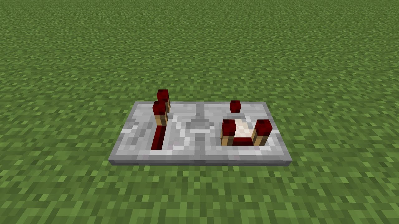 How to make a Redstone Repeater and Redstone Comparator