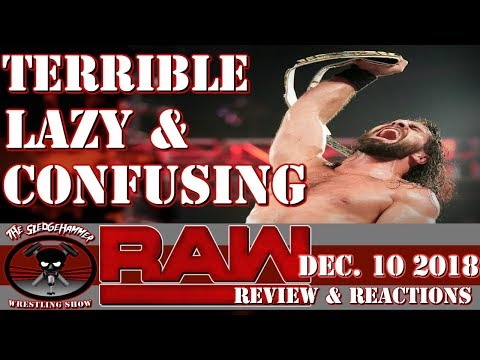 WWE Raw 12/10/18 Full Show Results & Reactions - TLC Go Home Show