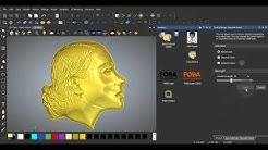 13 Hacer levantamiento de rostros con Autodesk ArtCAM CAD CAM