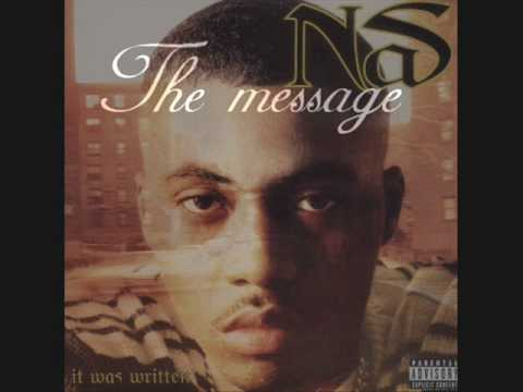 Nas The Message  (With Lyrics in Description / Beskrivning)