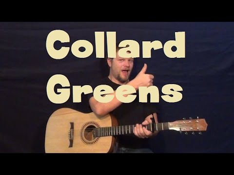 Collard Greens (Schoolboy Q ft. Kendrick Lamar) Easy Guitar Lesson How to Play Capo 4th Fret