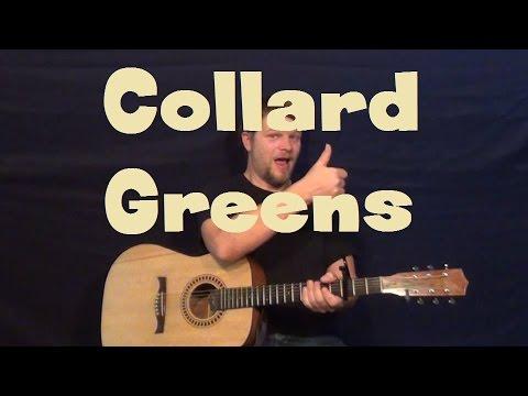 Collard Greens (Schoolboy Q) Easy Guitar Lesson How to Play Capo 4th Fret