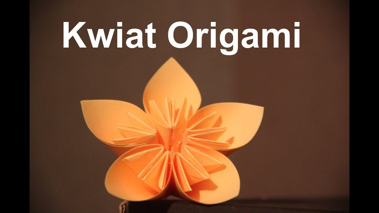 2 Kwiatek Origami Youtube