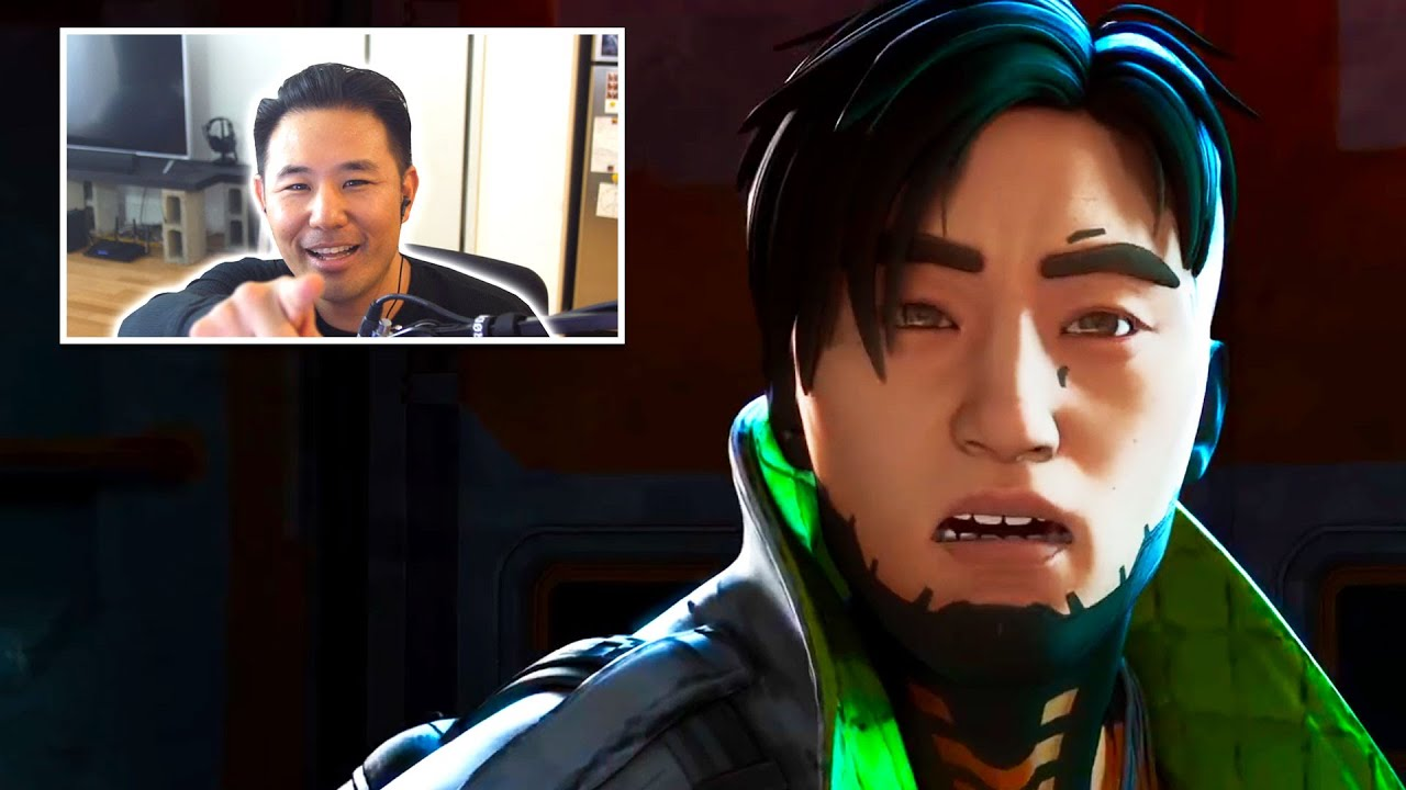 Crypto Voice Actor Reacts To Dying In Newest Trailer... AGAIN!!! | Apex Legends/EA Play Reaction