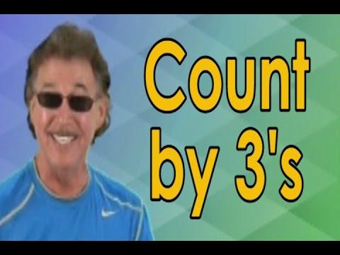 Count by 3 | Skip Count by 3 | Skip Counting | Skip Counting Song | Jack Hartmann