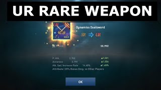 Lineage 2 Revolution UR RARE WEAPON DUNAMISS DUALSWORD