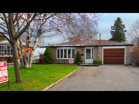 Rent To Own House in Oshawa, Ontario - ( Rented! )