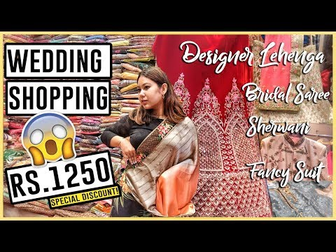 DESIGNER Sarees, Suit & Sherwani In Retail | Chandni Chowk Wedding & Festive Shopping