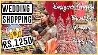 DESIGNER Sarees, Suit & Sherwani In Retail   Chandni Chowk Wedding & Festive Shopping