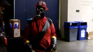 PAX East 2010 - Cosplay - Team Fortress 2 - TF2 Pyro