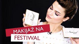 KOLOROWY MAKIJAŻ na festiwal z Zuzą Nowacką