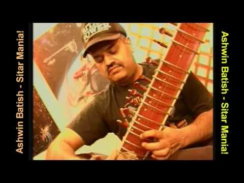 Sitar Mania by Ashwin Batish - a fusion of samba with the music of India