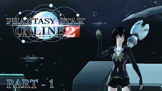 Phantasy Star Online 2 - Very Beginning of the Game - Part 1 [EN]
