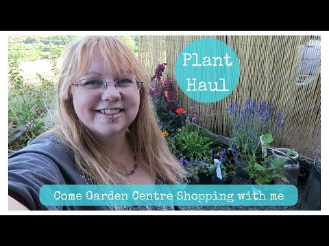 Come shopping with me at the Garden Centre + Plant haul!