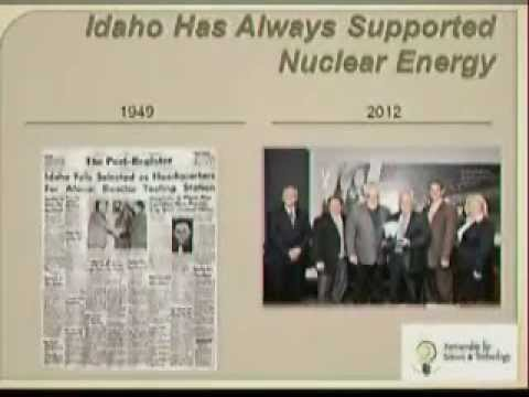 Partnership for Science and Technology Before the Idaho LINE Commission - August