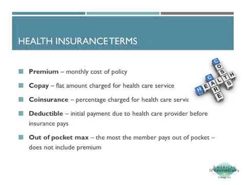 Health Insurance Basics - PASA Webinar