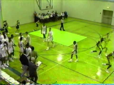 GREAT GOTHIC GAMES: 01-18-1992 JCSC 93, Glassboro State College 77 (TV Game) 3 of 5