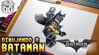 LEGO BATMAN - Speed Drawing