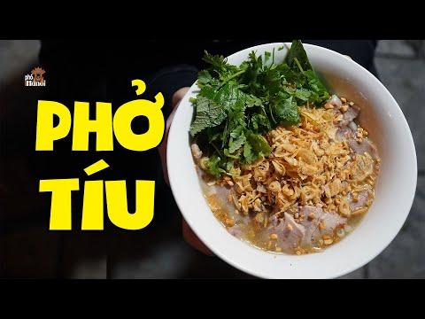 Ăn đêm Phở Tíu dù là người Hà Nội nhưng không phải ai cũng biết #hnp