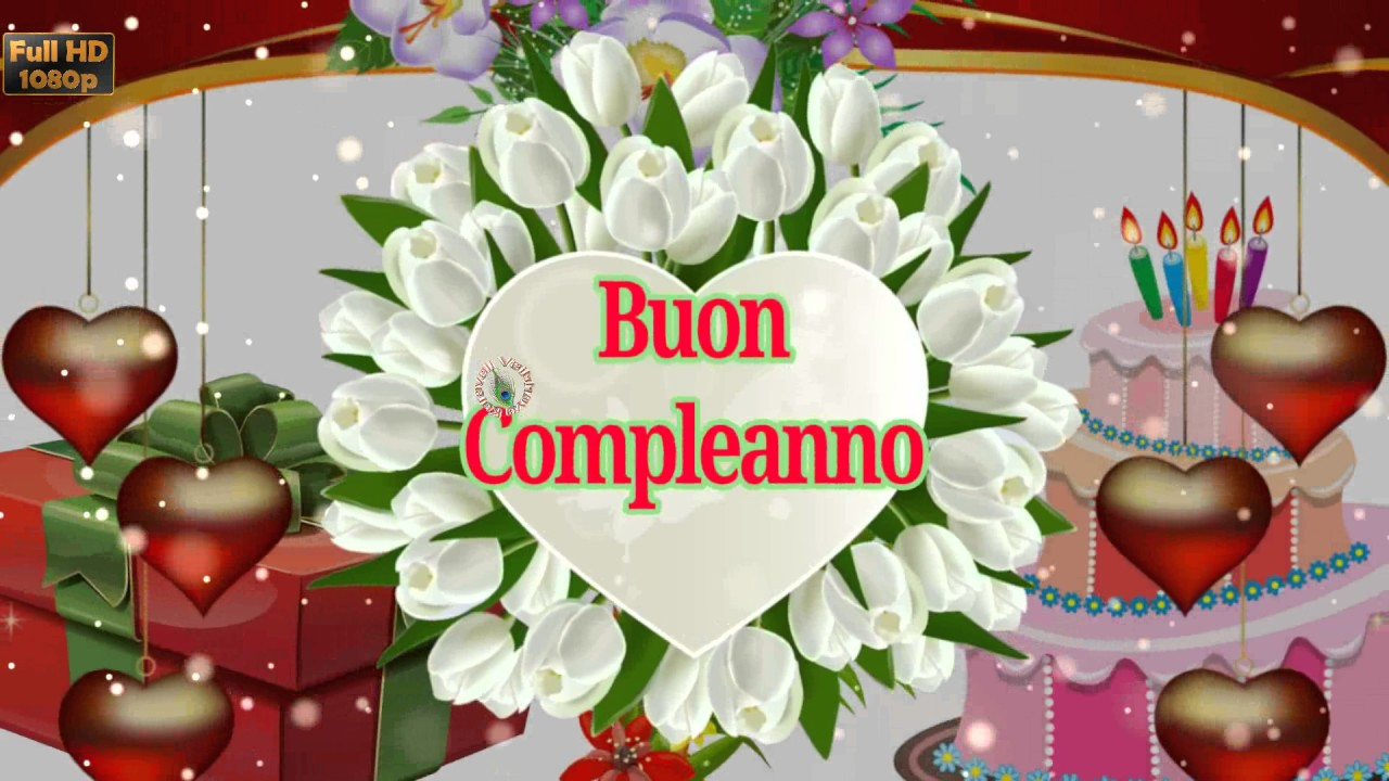 Birthday Wishes In Italian Greetings Messages Ecard Animation