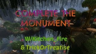 Complete The Monument w/Kitchen_Fire & TrickOrTreatise: Insomnia EP20 Orange Wool Found!