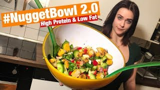 Chicken #NUGGETBOWL 2.0 - High Protein & Low Fat Rezept