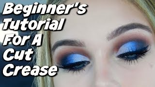 HOW TO DO A CUT CREASE FOR BEGINNER | SUPER EASY TRICK!