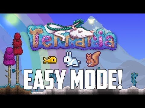 Terraria EASY MODE! ...but it's not what you think! | PC | Console | Mobile