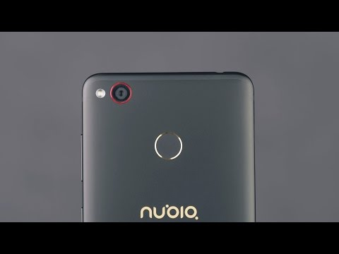 ZTE Nubia Z11 Mini S распаковка и сравнение с камерой iPhone 7.