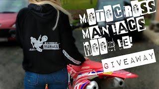 Motocross Maniacs Hoodie | GIVEAWAY! |