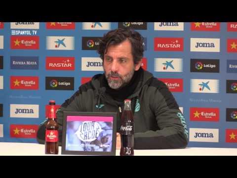 """Quique Sánchez Flores: """"Davant l'adversitat, ens aixequem i seguim"""""""