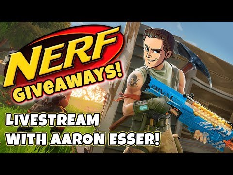 NERF GUNS GIVEAWAY! | Every Loss = Someone Wins a Nerf Gun! (Fortnite Battle Royale)