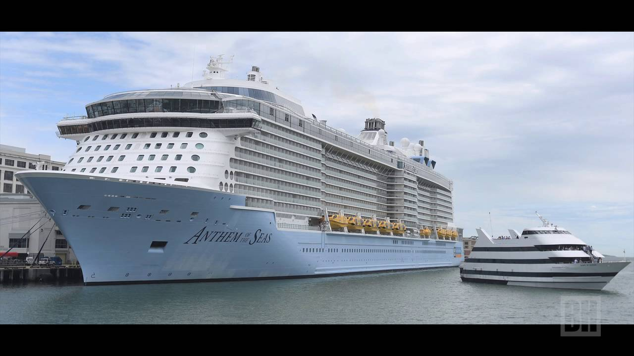 Anthem Of The Seas Cruise Ship Docks In Boston YouTube - Cruise ships out of boston