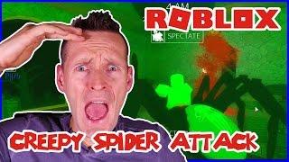 Creepy Spider Attack / Roblox Before The Dawn