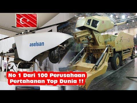 Luar Biasa, Perusahaan Pertahanan Turki Mendpat Rank 1 Dlm Pertumbuhan Pendapatan Diantara Top Dunia