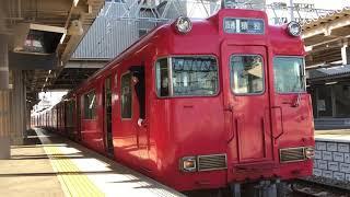 [レア?3番線から発車‼️]名鉄6000系三河ワンマン車 6005f(普通猿投行き)知立駅 発車‼️