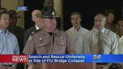 WEB EXTRA: FHP On SW 8th Street Road Closures In Wake of FIU Bridge Collapse