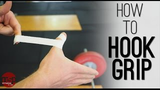 How to Hook Grip | Weightlifting Overhand Grip Technique for Lifting More - TECHNIQUE HUB