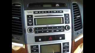 How to Hyundai Santa Fe Car Stereo Removal Removal 2007 -  2012 replace repair
